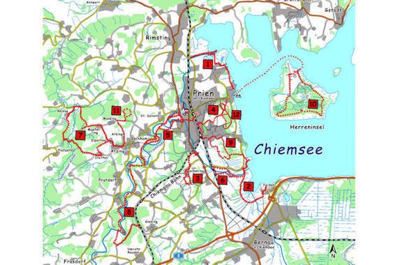 Chiemsee Karte Region.Chiemseeagenda Abwasser Und Umweltverband Chiemsee